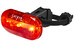CatEye TL-LD135G - Luz a pilas traseras - rojo/negro